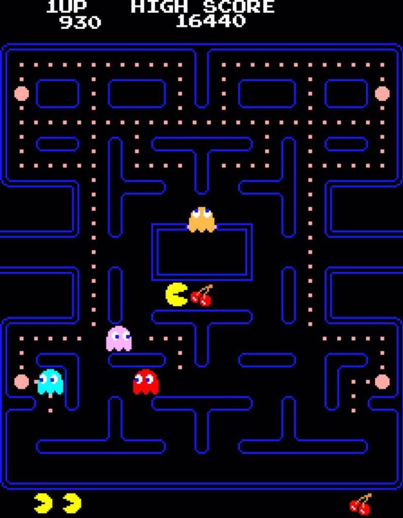 pacman videojuego